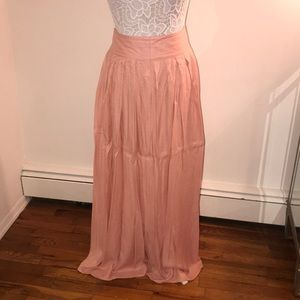 Women's A Line Full Length Skirt sz Sm